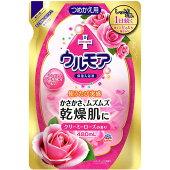 LC17アース製薬保湿入浴液ウルモアクリーミーローズの香りつめかえ480mL【1価】【ポイント消化】