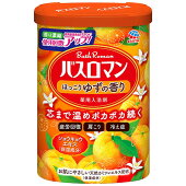 LC35アース製薬薬用入浴剤バスロマンほっこりゆずの香り600g【1価】【ポイント消化】