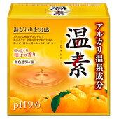 【目玉特価】LC60アース製薬温素入浴剤柚子の香り15包入り【1価】【ポイント消化】