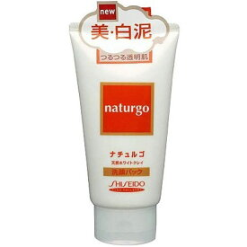 資生堂 ナチュルゴ 天然ホワイトクレイ 洗顔パック 120g