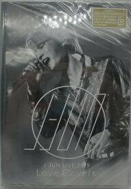 eh62-4244oo■新品CD+DVD■ J-JUN LIVE 2019 Love Covers (DVD) 「ゆうメール便可」 音楽DVD