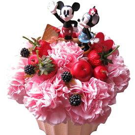 母の日 ディズニー フラワーギフト フラワーケーキ ノーマル ミッキー ミニー入り フラワーアレンジメント 母の日プレゼント・母の日 の贈り物におすすめのフラワーギフト