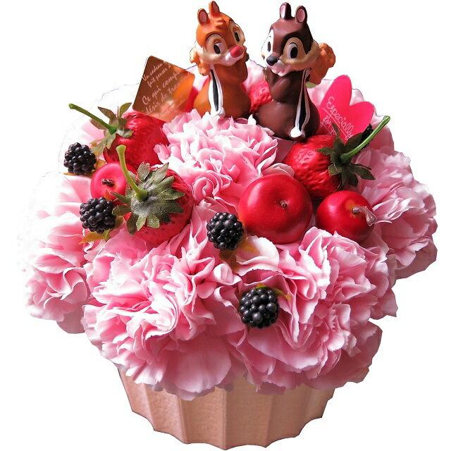 母の日 ディズニー フラワーギフト フラワーケーキ チップ&デール入り フラワーアレンジメント 母の日プレゼント・ 贈り物におすすめのフラワーギフト