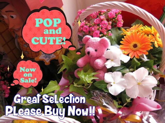母の日 プレゼント ピンク くまちゃん 鉢植えギフト フラワーギフト お花はデザイナーにおまかせ ◆大切なあの人を笑顔にしちゃう魔法のフラワーギフト♪