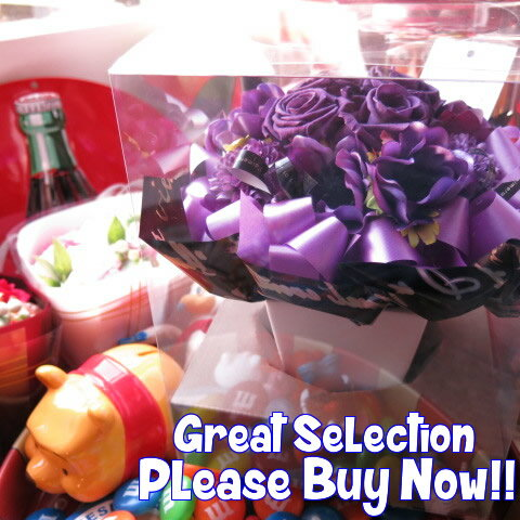 古希祝い 紫バラ フラワーギフト プリザーブドフラワー入りギフト ケース付き プリザーブドフラワー