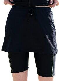 日本製 送料無料 体型カバー 大きいサイズあり フィットネス水着スカートのみ レディース女性用 ルモード 9M 11L 13L 15LL 17LL【あす楽対応_関東】02P03Dec16 黒 ブラック