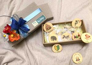 プリントバタークッキー詰合せセット(お返し・ギフト・送料込み*・誕生日・内祝い・快気祝い・お見舞い・父の日・かわいい)