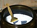 [仏具] 灰ならし 真鍮板製 小 〔香炉〕 定形郵便対応(1本92円)