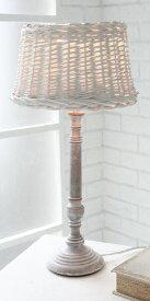 輸入雑貨 ブラタン シェードランプ テーブルランプ スタンド コベントガーデン Covent シャビーシック ナチュラル カフェ GC-06 送料無料