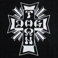 DOGTOWNドッグタウンメンズ半袖Tシャツ「S/STEECrossLogo」カラー:BLACKストリートスケート