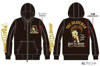 ベティーブープBettyBoopコラボTheBRAVE-MANザ・ブレイブマンメンズスカGジャンスーベニアジャケットレディースアウターキャラクターアメカジ刺繍