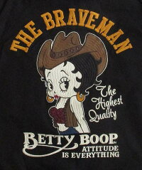 TheBRAVE-MANザ・ブレイブマンベティーブープ/BettyBoop/ライダース/ジャケット/メンズ/レディース/キャラクター/アメカジ/刺繍