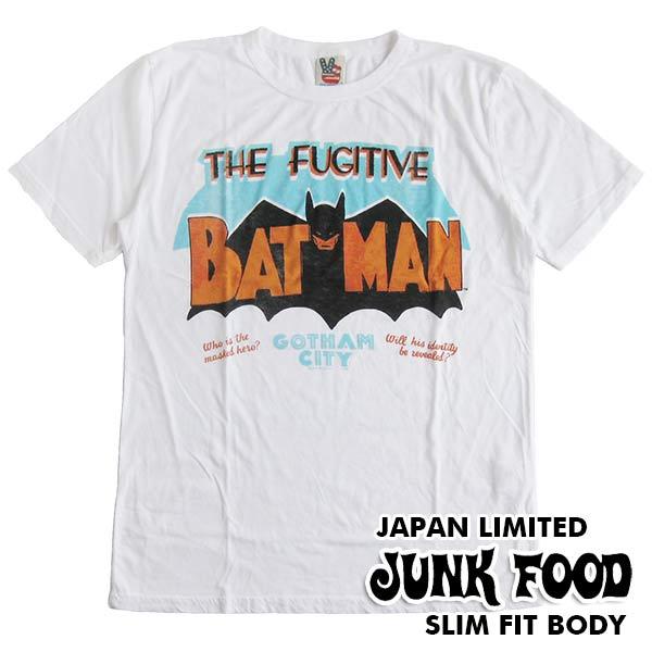 ジャンクフード/JUNK FOOD 半袖Tシャツ BATMAN/バットマン ヒーロー