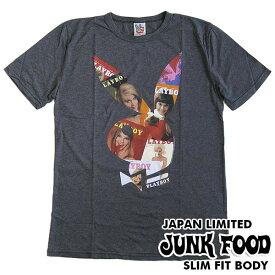 ジャンクフード/JUNK FOOD 半袖Tシャツ PLAYBOY/プレイボーイ