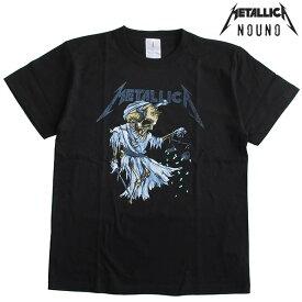 NOUNO(ノウノ) メンズ半袖Tシャツ METALLICA/メタリカ バンドTシャツ/正規ライセンス品 ロックT/ロックTシャツ/バンドT/ROCK