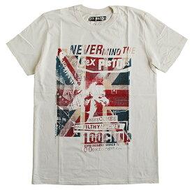 セックス・ピストルズ SEX PISTOLS メンズ半袖Tシャツ ロックTシャツ バンドTシャツ パンク PUNK 正規ライセンス品
