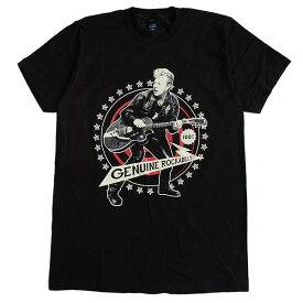 ブライアン・セッツァー BRIAN SETZER メンズ半袖Tシャツ ロックTシャツ バンドTシャツ STRAY CATS ストレイ・キャッツ ロカビリー ネオロカ Rockabilly 正規ライセンス品