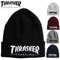 THRASHER/スラッシャー/ニットキャップ/ビーニー/ニット帽/キャップ/帽子/メンズ/レディース