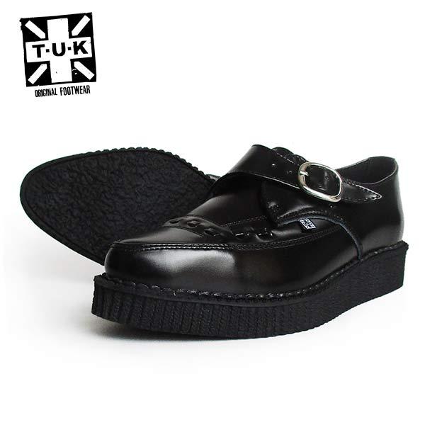 【送料無料】 TUK/ティーユーケー ラバーソール/ポインテッドトゥ メンズ 「POINTED TOE CREEPERS」 A8520 靴 スニーカー 厚底 パンク ロカビリー レディース ファッション モッズ