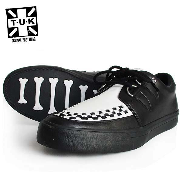 TUK/ティーユーケー メンズ VLKスニーカー 「TUK VLK Sneaker」 A9180 ラバーソール 靴 パンク ロカビリー モッズ