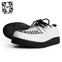 TUK/ティーユーケー/ラバーソール/メンズ/靴/スニーカー/厚底/パンク/ロカビリー
