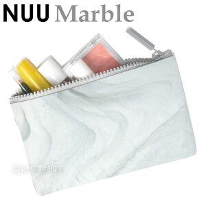 (宅配便専用)NUU Marble ヌウ マーブル 海外人気のマーブルシリーズが日本上陸 財布 ポーチ 化粧ポーチ 筆箱 シリコン 柔らかい レディース メンズ p+g design