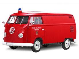 現品限り 送料無料 1/12 1956年 フォルクスワーゲン タイプ2 消防車 VW ワーゲンバス 1000台限定モデル Kastenwagen