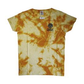 FRANKLIN & MARSHALL (フランクリン&マーシャル)染め ロゴプリント Tシャツ (ボクサーパンツ/男性下着) イエロー