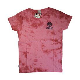 FRANKLIN & MARSHALL (フランクリン&マーシャル)染め ロゴプリント Tシャツ (ボクサーパンツ/男性下着) レッド