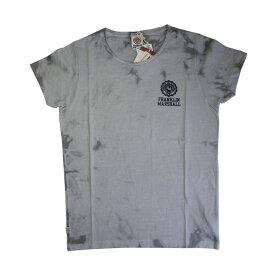 FRANKLIN & MARSHALL (フランクリン&マーシャル)染め ロゴプリント Tシャツ (ボクサーパンツ/男性下着) グレー