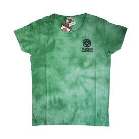 FRANKLIN & MARSHALL (フランクリン&マーシャル)染め ロゴプリント Tシャツ (ボクサーパンツ/男性下着) グリーン