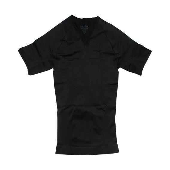 SPANX (スパンクス) ZONED PERFORMANCE V-NECK (ボクサーパンツ/男性下着) ブラック