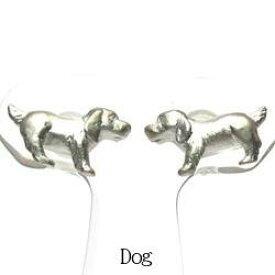 【送料無料】イヌピアス アニマル 動物 プラチナ900 ドッグ ギフト 誕生日 プレゼント いぬ 犬結婚記念 彼女 ピアス プラチナ 自分ご褒美
