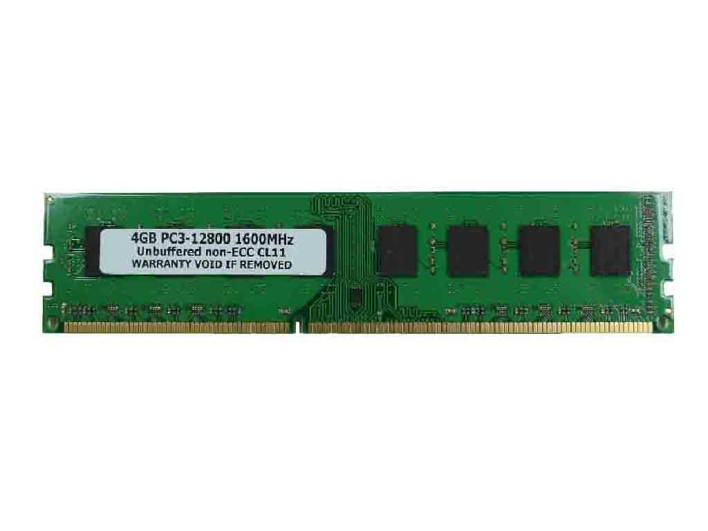 【特価品】 4GB PC3-12800 DDR3 1600 8chip 240pin DIMM PCメモリー【数量限定】