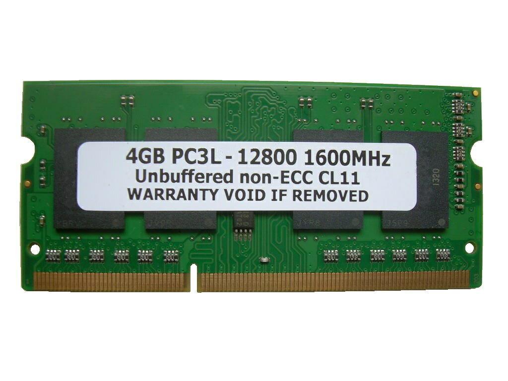 4GB PC3L-12800 DDR3L 1600 204pin SODIMM PCメモリー 【相性保証付】
