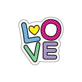うちわデコレーション用メッセージステッカー【LOVE】簡単ハンドメイドでコンサート準備はバッチリ☆(※うちわは別売りです)