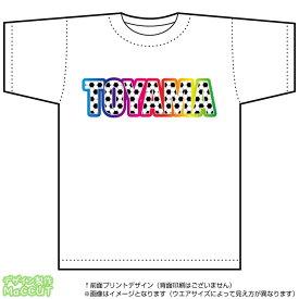 富山サッカーTシャツ(白)(Jリーグ/応援/ホーム/サポーター/チーム/サッカーボール)