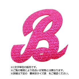 飾り文字ワッペン(アルファベット/8cmサイズ)