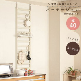 家具に設置できるパーテーション40cm幅 棚付き 【壁面収納】 【02P24Oct15】【smtb-k】【kb】【RCP】