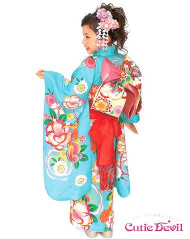 七五三女の子7歳着物22点セットキューティーデビルCA701