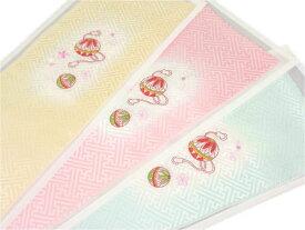 【ネコポス280円可】七五三女の子正絹鞠刺繍半襟tals01-03