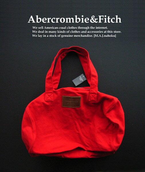 4440新品★アバクロンビー&フィッチ Abercrombie&Fitch★ボストンバック★赤★WOMENS