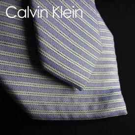 164新品★カルバン・クライン Calvin Klein★★ ネクタイ ★★青紫系白★MENS