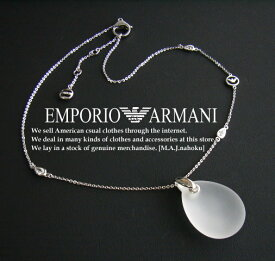 2425新品★エンポリオアルマーニ EMPORIO ARMANI★ネックレス★袋付★WOMENS★