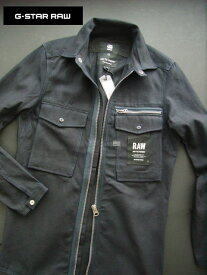 7327新品★ジースター G-STAR RAW★ジップシャツジャケット2903★紺★XS★MENS★