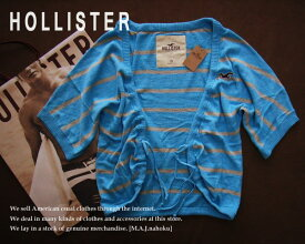 1576新品★ホリスター HOLLISTER★ボーダーラグランカーディガン★ブルー系★XS★WOMENS★