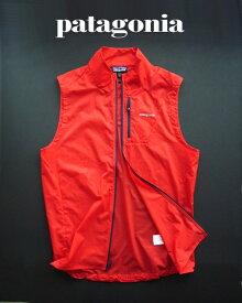 6668-73新品★パタゴニア patagonia★フーディニベスト Houdini Vest101★赤系 French Red★MENS★