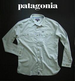 6700新品★パタゴニア patagonia★ロングスリーブカヨラルゴシャツ 121★青系★XL★MENS★大きいサイズ