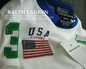 3390-2新品★ラルフローレン RALPH LAUREN★ベビーロゴTシャツ+短パンセット201★子供服★