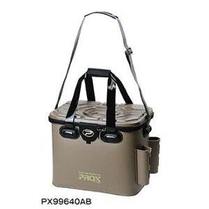 プロックス(PROX)EVAタックルバック ロッドホルダー付 PX99640AB 40cm アーミーブラウン